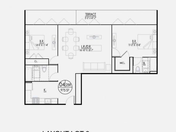 Bedroom House Plans Without Garage Home