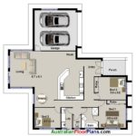 Bedroom Huge Living Area Real Estate House Plans Double