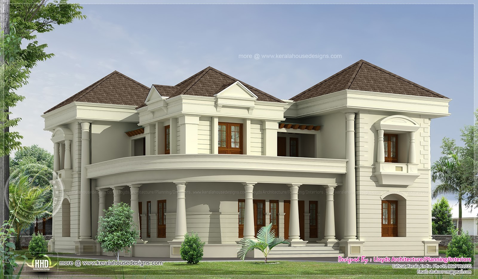 Bedroom Luxurious Bungalow Floor Plan
