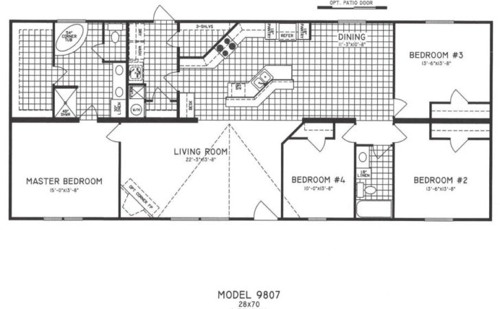 Bedroom Modular Home Plans Simple Floor Also Double