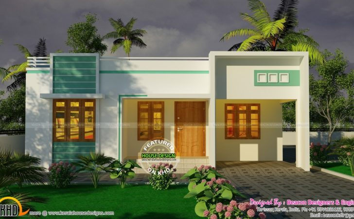Bedroom Small Budget House Plan Kerala Home Design