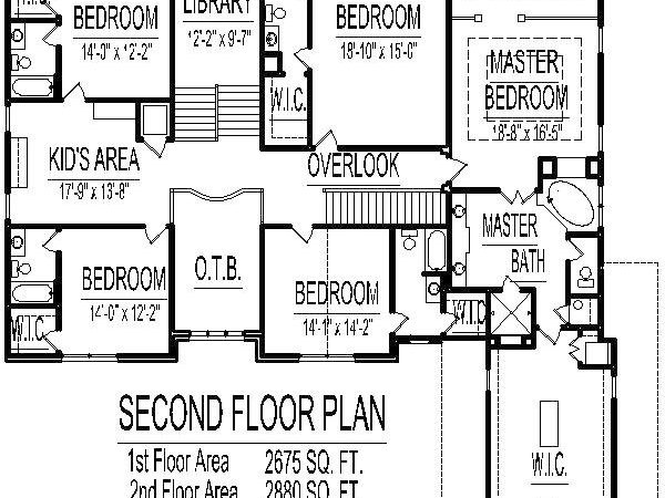 Bedroom Story House Plans Home Design