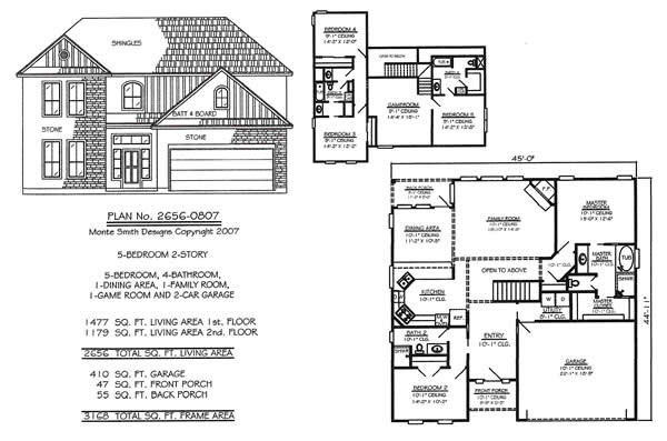 Bedroom Story House Plans