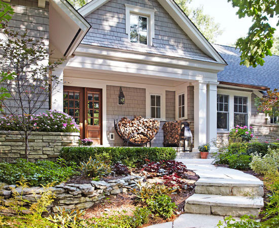 Before After Remodeled Ranch House Traditional Home