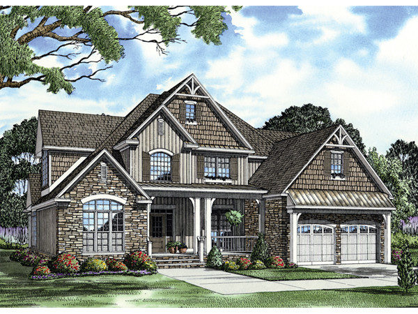 Bellabrook Arts Crafts Home Plan House