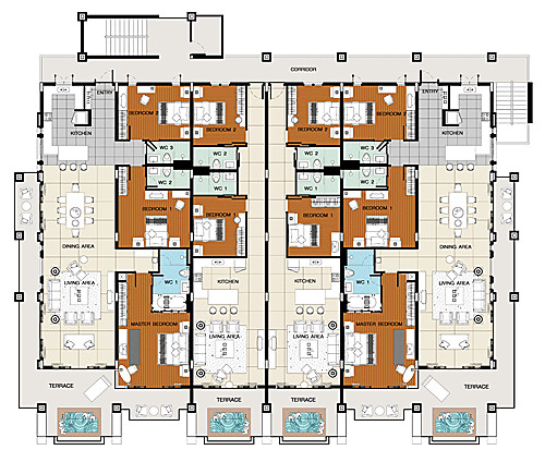 Benvenutiallangolo Luxury Apartments Plan