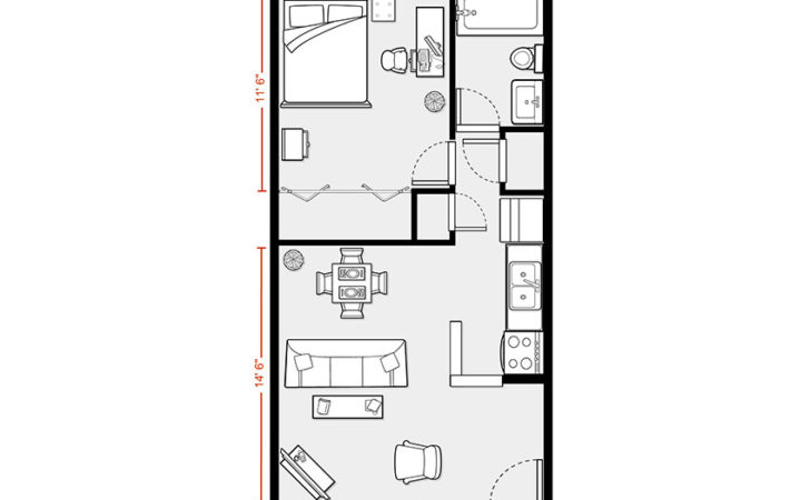Best Apartment Floor Plan House Plans