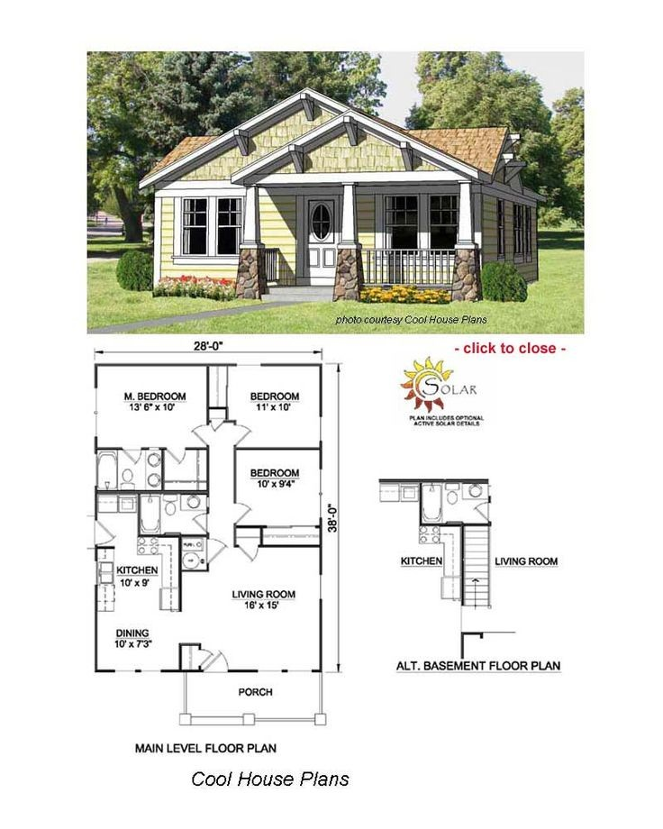 Best Bungalow Floor Plans Ideas Only Pinterest