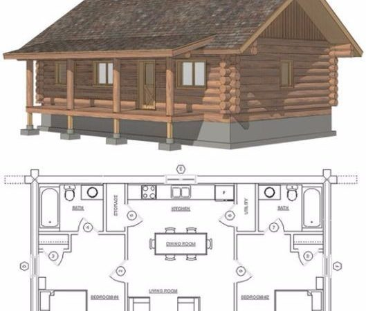 Best Cabin Floor Plans Ideas Pinterest Log