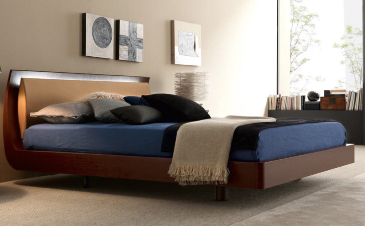 Best Design Idea Modern Wooden Bed Bedroom Interior