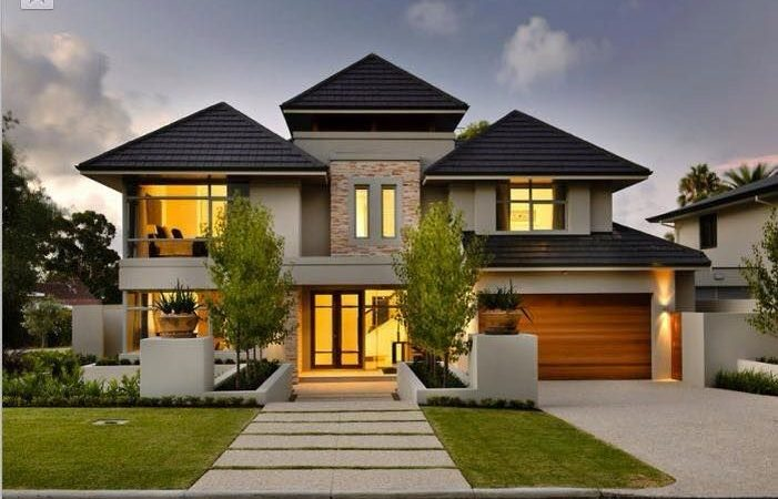 Best Double Storey House Plans Ideas Pinterest