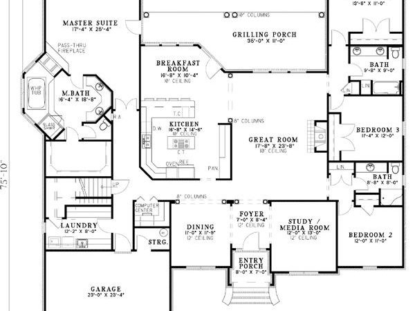 Best Floor Plan Ever Only Thing Would Change