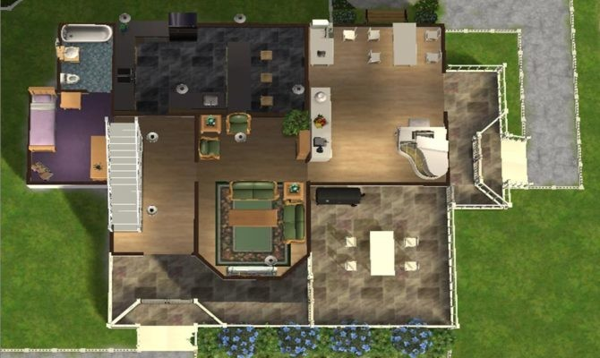 Best Floor Plans Sims Ideas House