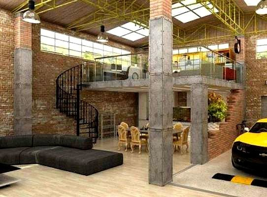 Best Garage Loft Apartment Ideas Pinterest