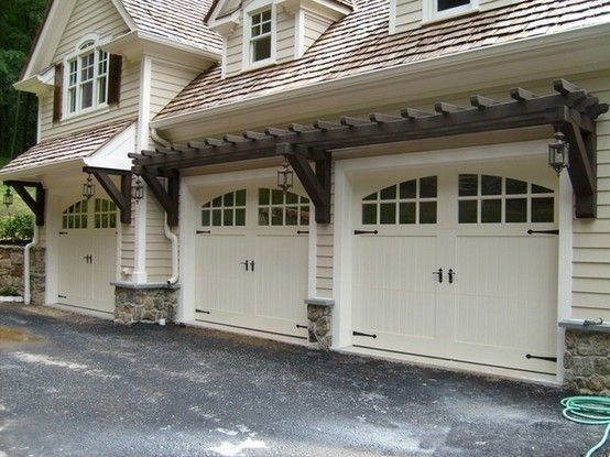 Best Garage Pergola Ideas Pinterest