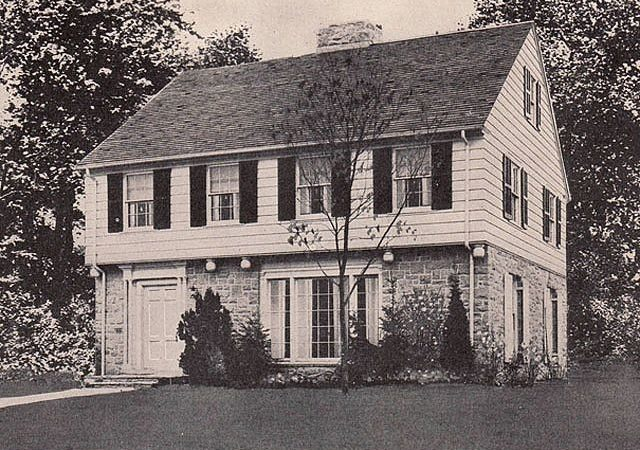 Best Garrison Colonial House Style