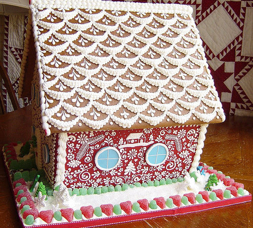 Best Gingerbread House Designs Mirauncut Cooking