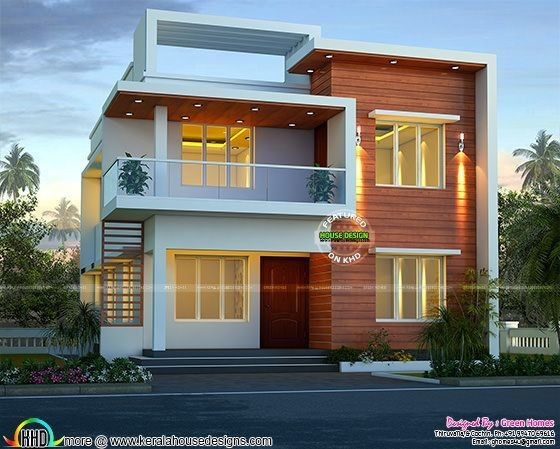Best House Elevation Indian Compact