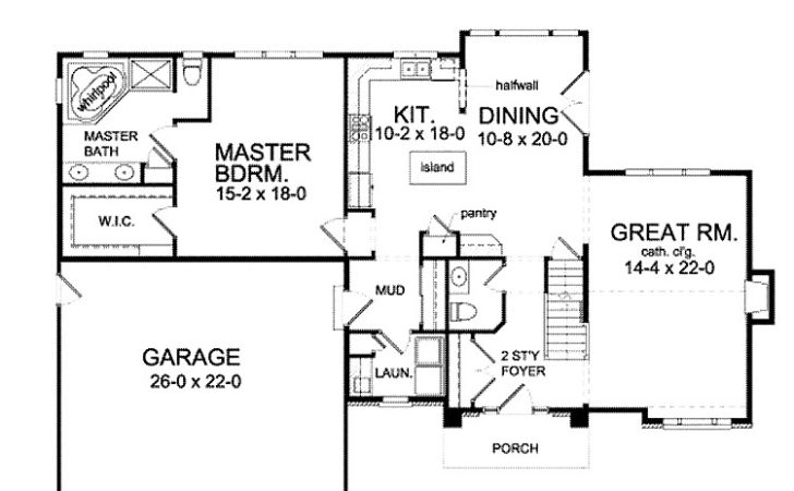 Best House Plans First Floor Master Home
