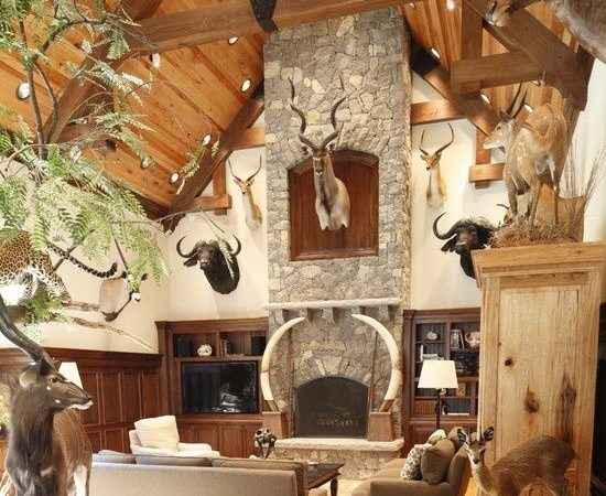 Best Hunting Lodge Interiors Ideas Pinterest