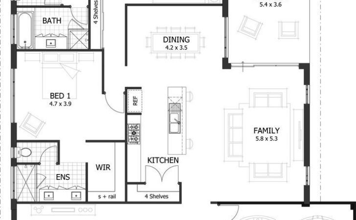Best Ideas House Plans Small Bedroom