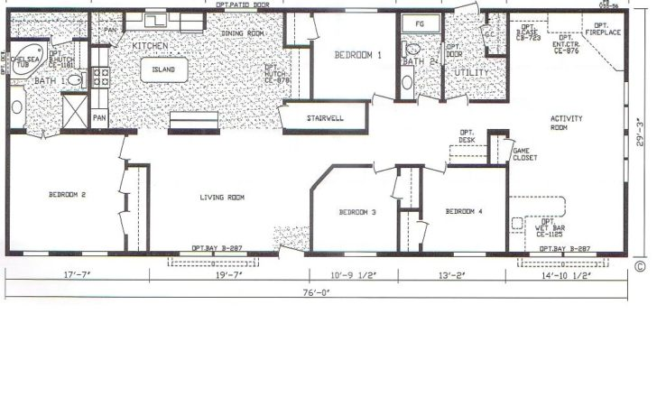 Best Ideas Mobile Home Floor Plans Modular Also