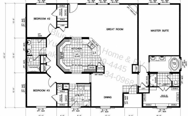 Best Ideas Mobile Home Floor Plans Modular