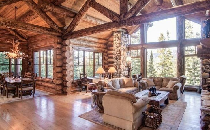 Best Log Cabin Floor Plans Ideas Pinterest