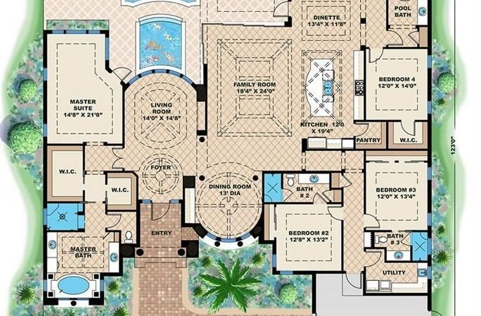 Best Luxury Home Plans Ideas Pinterest