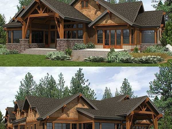 Best Mountain House Plans Ideas Pinterest