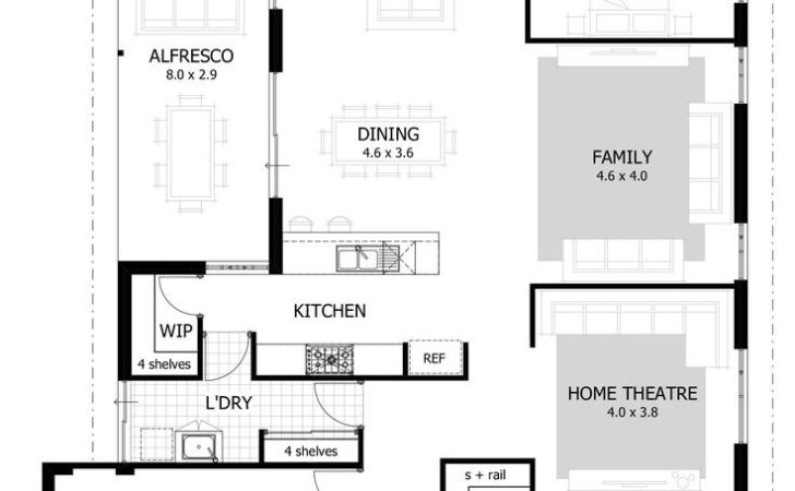 Best Narrow House Plans Ideas Pinterest Small