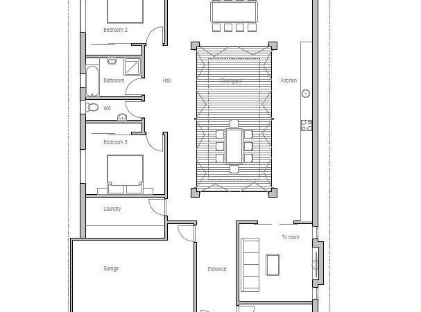 Best Narrow House Plans Pinterest