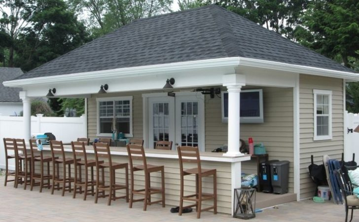 Best Pool House Shed Ideas Pinterest