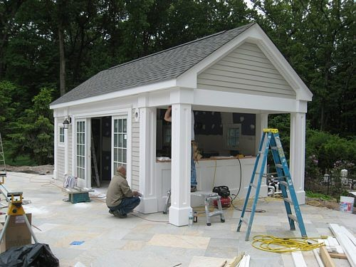 Best Pool Shed Ideas Pinterest House