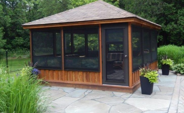 Best Screened Gazebo Ideas Pinterest