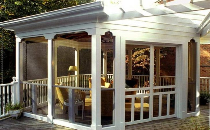 Best Screened Patio Pinterest Porch Ideas