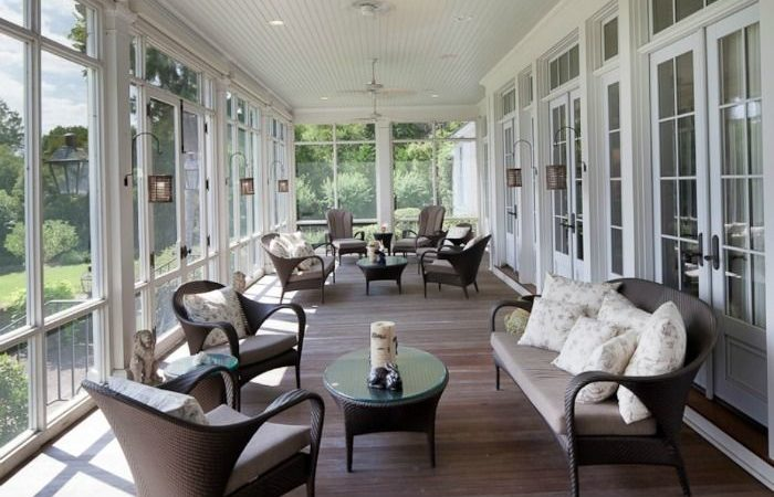 Best Screened Porches Front