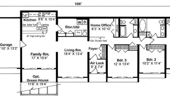 Best Simple Earth Contact House Plans Ideas Home