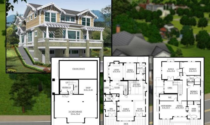 Best Sims Houses Blueprints Architecture Plans