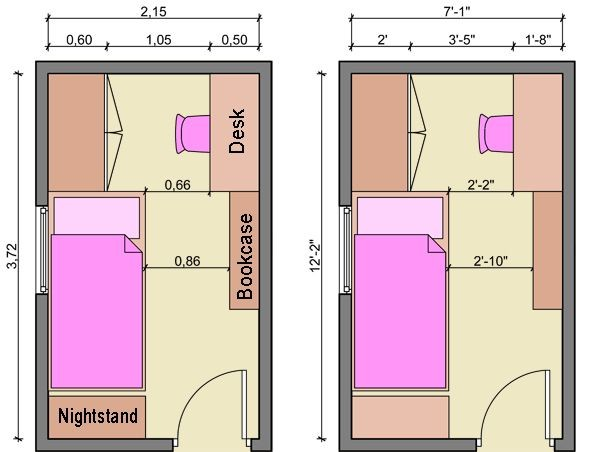 Best Small Bedroom Layouts Ideas Pinterest