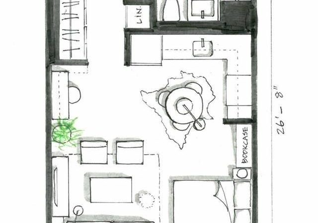 Best Studio Apartment Layout Ideas Pinterest