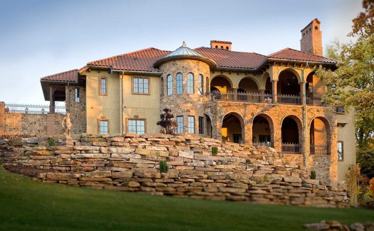 Best Tuscan Style House Plans Design