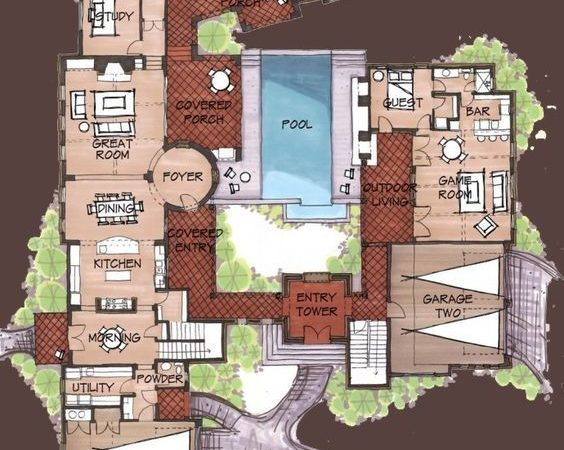Best Unique Floor Plans Ideas Pinterest Small