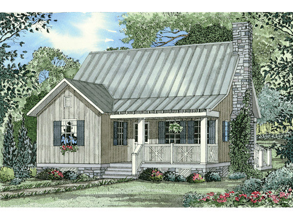 Bevo Mill Rustic Cottage Home Plan House Plans