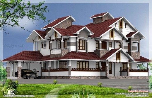 Bhk Mansion Floor Plans House