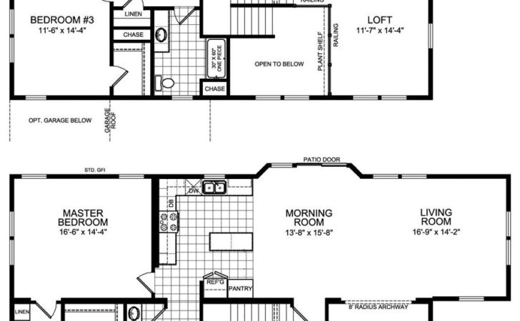 Big Bedroom House Plans Floor One