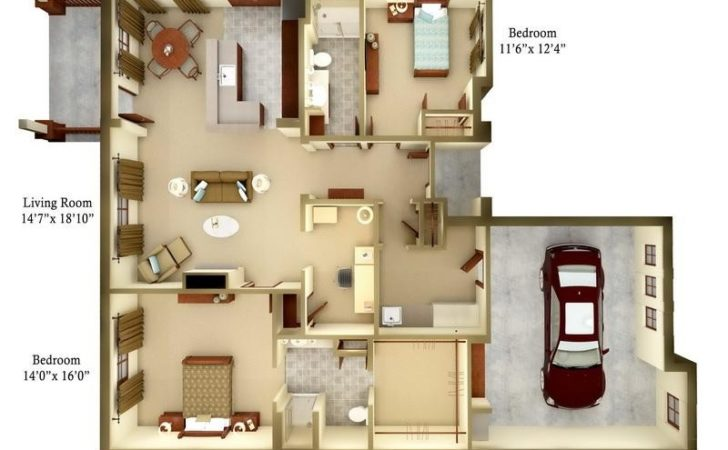 Bloombety Small Cottage Floor Plans Idea
