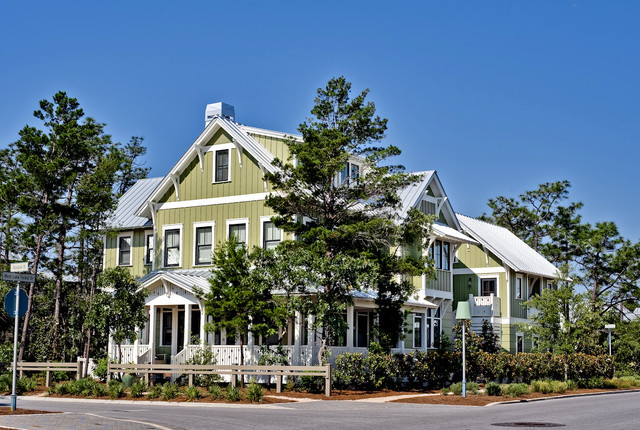 Bluejack Watercolor Traditional Exterior