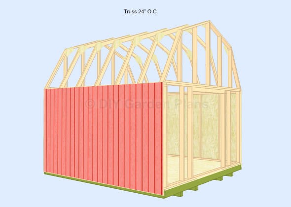 Bobbs Layout Build Trusses Your Gambrel Barn