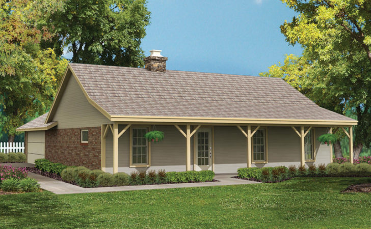 Bowman Country Ranch Home Plan House Plans